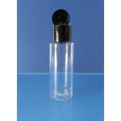 Flacon 30 ml avec bouchon FLIP TOP noir