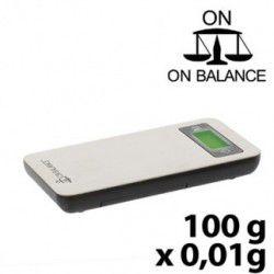 Balance de laboratoire électronique de poche 500g grande précision Nahita