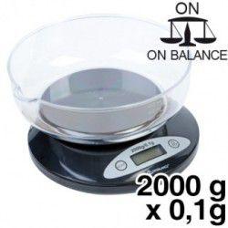 BALANCE DE CUISINE KB-2000 capacité de 2000g et  précision 0.1g