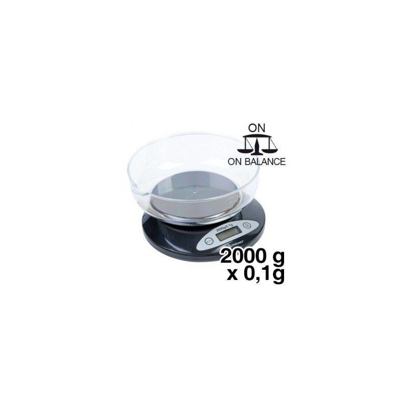 balance de cuisine kb 2000 capacit de 2000g et pr cision. Black Bedroom Furniture Sets. Home Design Ideas