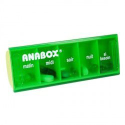 Pilulier Anabox journalier ANABOX
