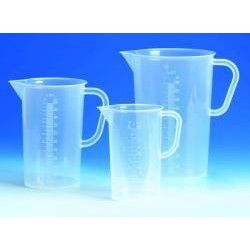 6 measuring cups, beakers 30ml to 1000ml